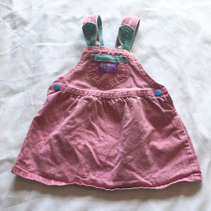 Baby Vintage Oshkosh Jumper Dress 24 months